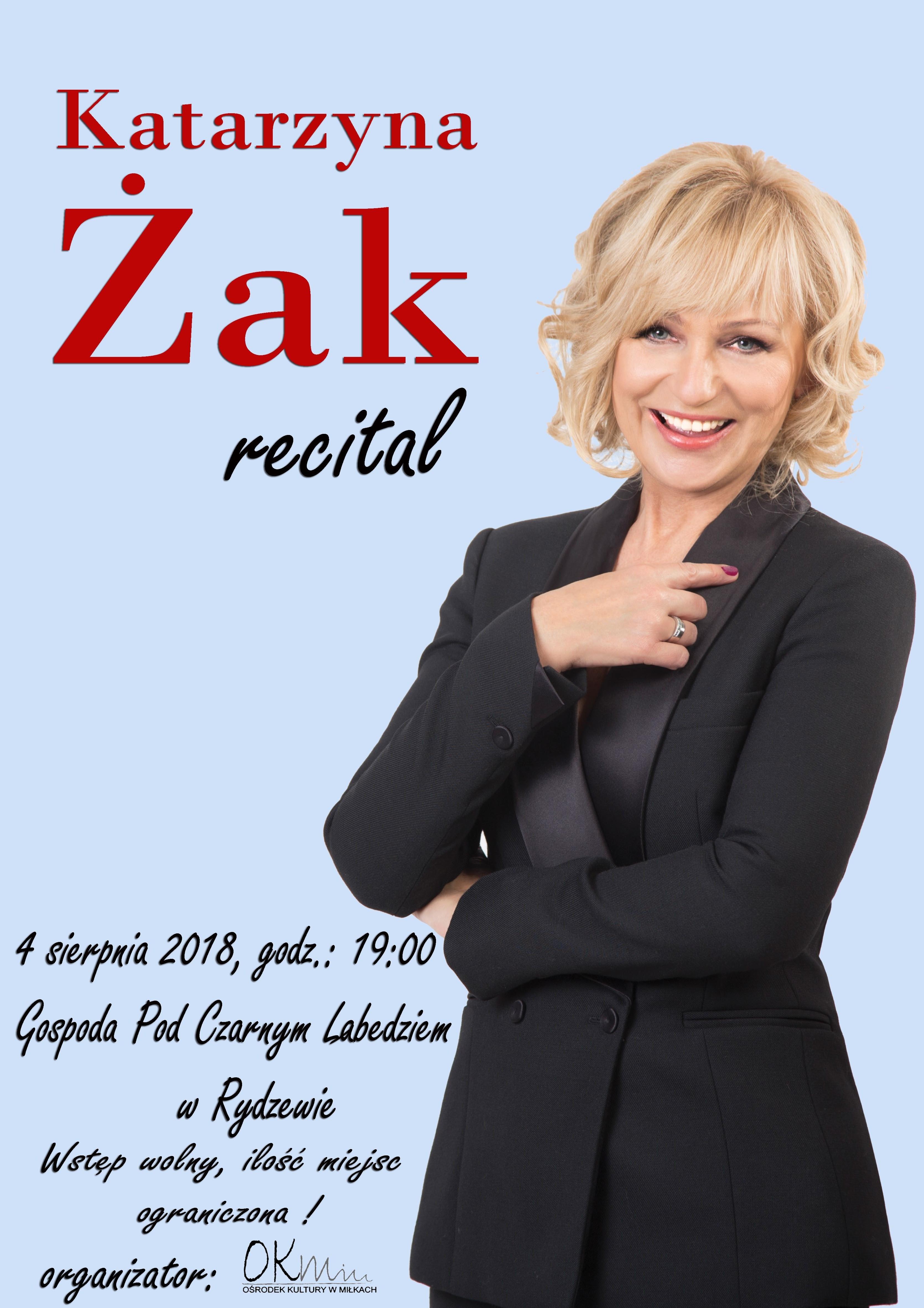 Katarzyna Żak - recital